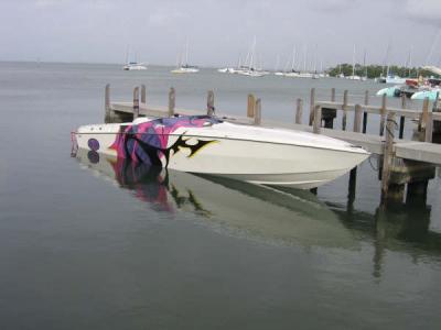 35\' Cigarette Boat