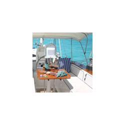 49' Hinckley Center Cockpit Sailboat - captain\'s area