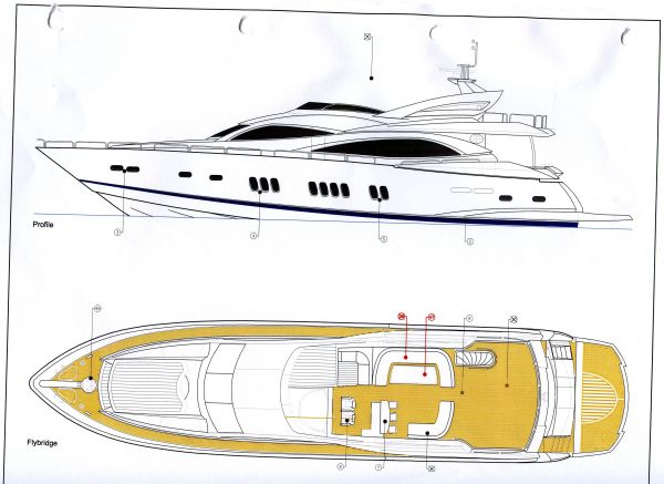 92' Sunseeker Manhattan Yacht