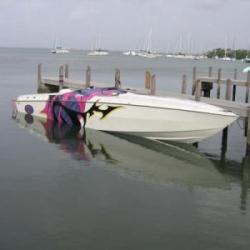 35′ Cigarette Boat
